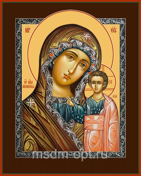 Казанская икона Божией Матери  (арт.04212)