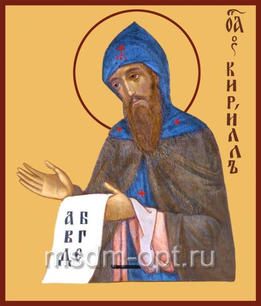 Кирилл равноапостольный, икона (арт.421)