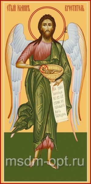 Иоанн Предтеча Креститель Господень, икона