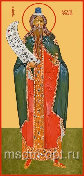 Захария пророк, икона