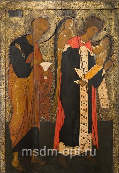 Петр апостол и Михаил архангел, деисус