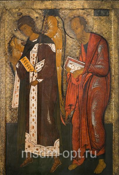 Павел апостол и Гавриил архангел, деисус