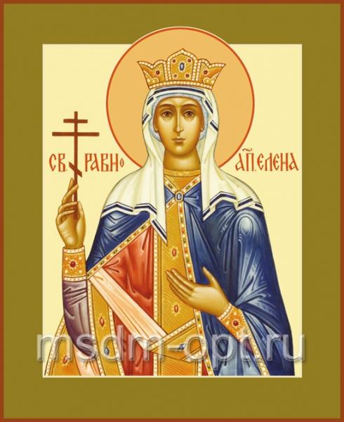 Елена равноапостольная царица, икона (арт.442)