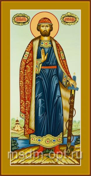 Димитрий Донской благоверый князь, икона (арт.04440 2-с)