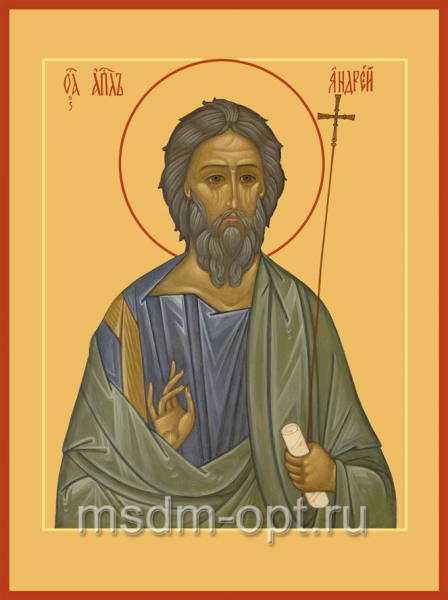 Андрей Первозванный апостол, икона (арт.444)