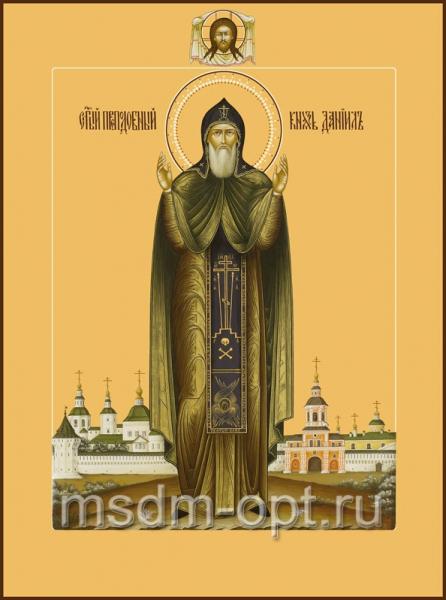 Даниил Московский благоверный князь, икона (арт.449)