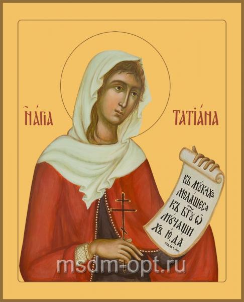 Татиана мученица, икона
