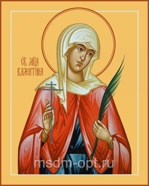Валентина Кесарийская мученица, икона
