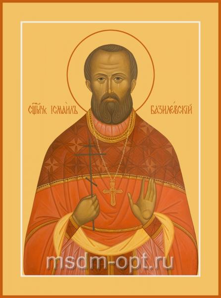 Исмаил Базилевский мученик, икона (арт.04516)
