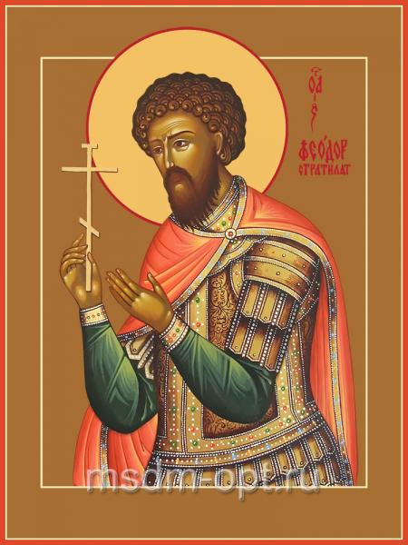 Феодор Стратилат великомученик, икона (арт.04517 с-2)