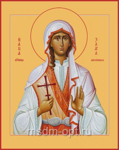 Святая Злата мученица, икона (арт.04518)