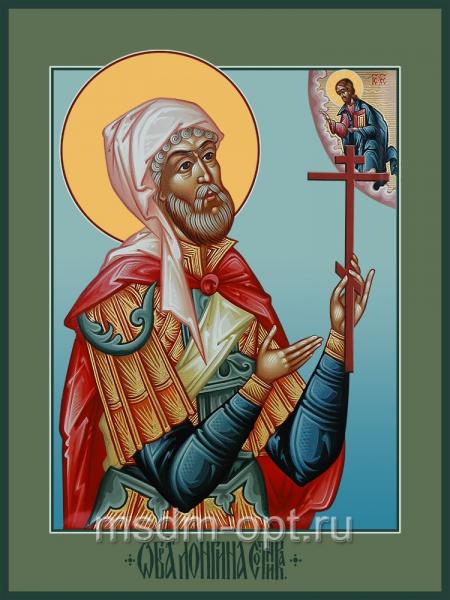 Лонгин Сотник мученик, икона (арт.04519)