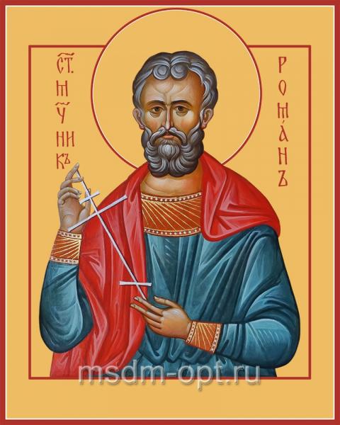 Святой Роман Кесарийский, икона (арт.04520)