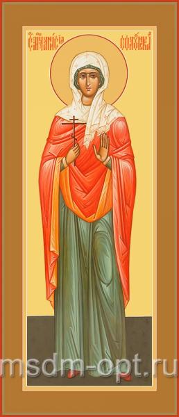 Святая Анисия Солунская, икона (арт.04521)