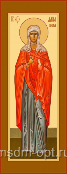 Дария Римская мученица, икона (арт.04530 с-2)
