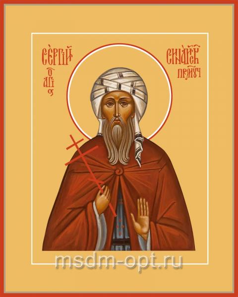 Сергий Синайский преподобномученик, икона (арт.04533)