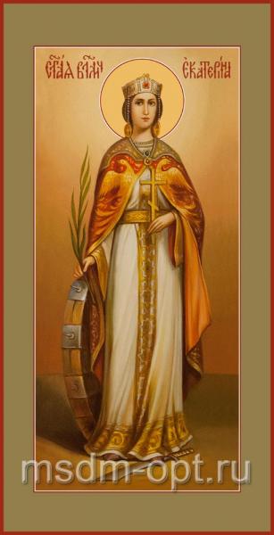 Екатерина великомученица, икона (арт.04534 c-2)