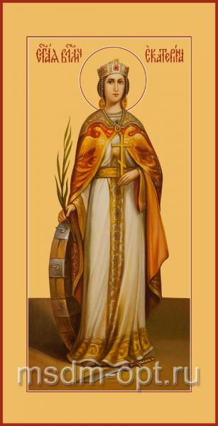 Екатерина великомученица, икона (арт.04534)