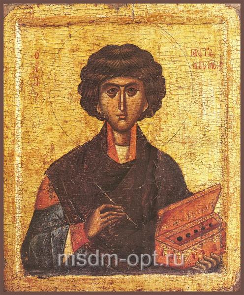 Пантелеимон великомученик и целитель, икона (арт.04537)