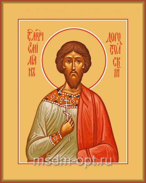 Святой Мученик Емилиан Доростольский, икона (арт.04540)