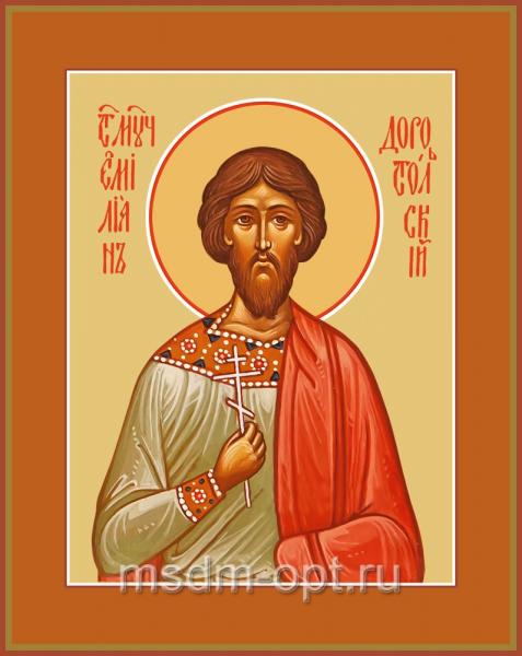 Святой Мученик Емилиан Доростольский, икона (арт.04540 с-2)