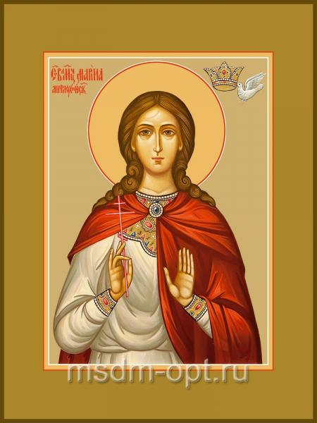 Марина (Маргарита) Антиохийская, великомученица, икона (арт.04542 с-2)