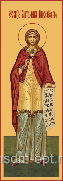 Антонина Никейская мученица, икона (арт.04554)