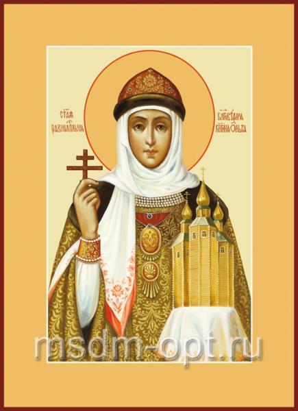 Ольга равноапостольная великая княгиня, икона (арт.457)