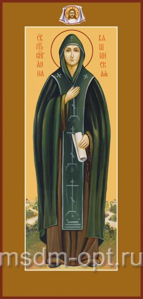 Анна Кашинская благоверная великая княгиня, икона (арт.459)