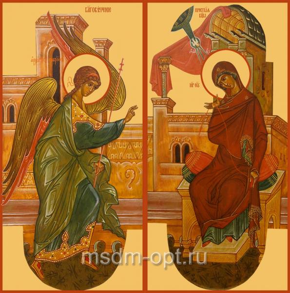 Благовещение Пресвятой Богородицы, иконы на Царские Врата (арт.04636)