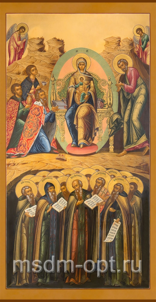 Собор Пресвятой Богородицы, икона