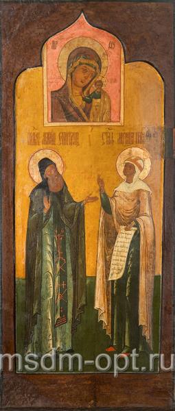 Макарий Великий Египетский преподобный и Параскева Пятница мученица