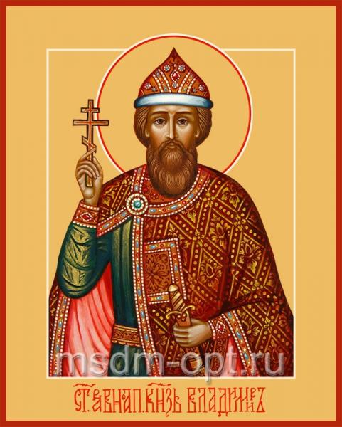 Владимир равноапостольный великий князь, икона (арт.466)