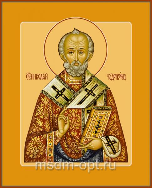 Николай чудотворец, архиепископ Мир Ликийских, святитель, икона(арт.04706)