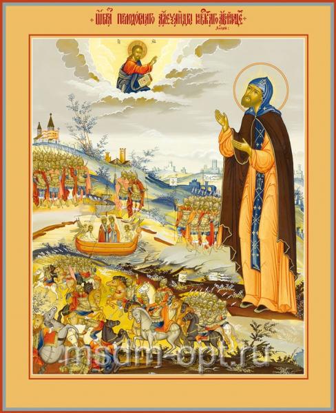 Александр Невский благоверный князь, икона (арт.472)