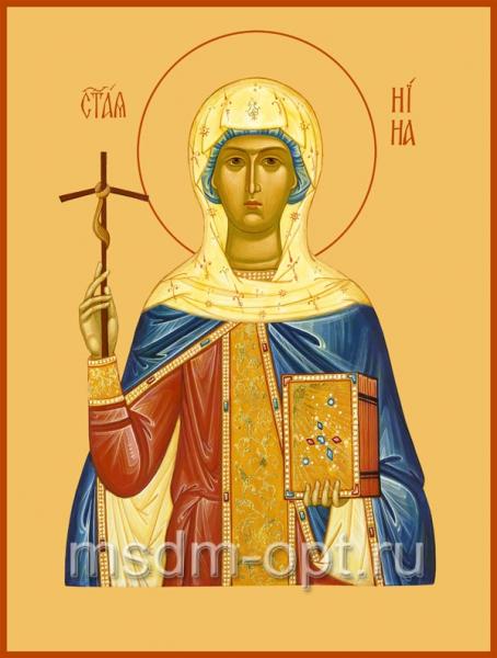 Нина равноапостольная, икона (арт.473)