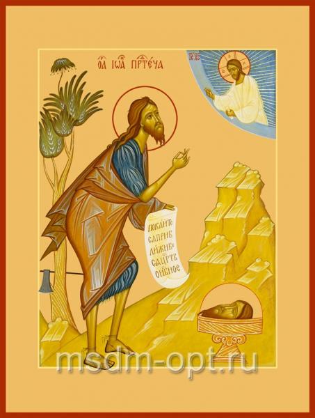 Иоанн Предтеча Креститель Господень, икона (арт.477)