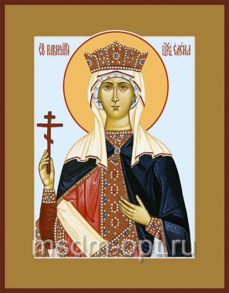 Елена равноапостольная царица, икона (арт.478)