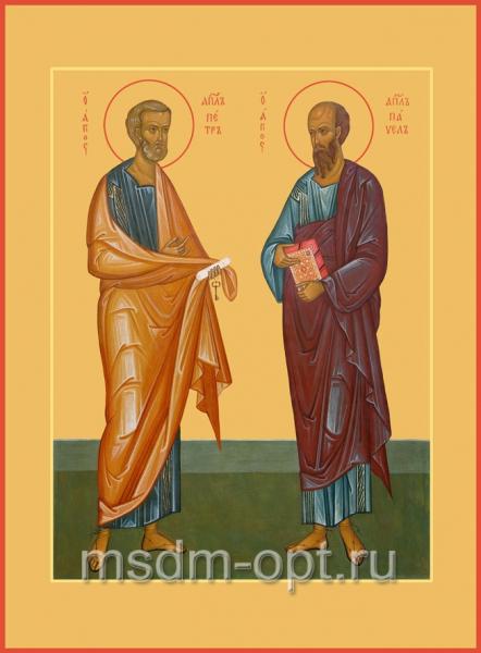 Петр и Павел апостолы, икона (арт.480)