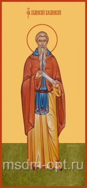 Паисий Великий преподобный, икона