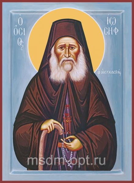Иосиф Исихаст преподобный,  икона (арт.04823 с-2)