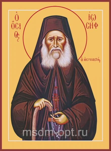 Иосиф Исихаст преподобный, икона (арт.04823)