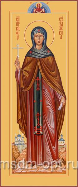 София Суздальская преподобная, икона  (арт.04825)