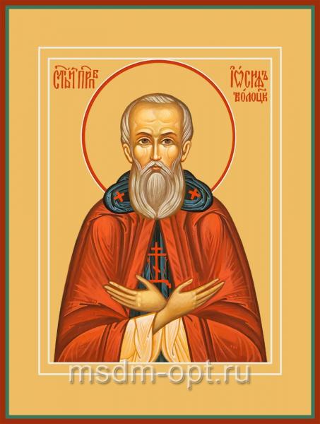 Иосиф Волоцкий преподобный, икона (арт.04829-2)