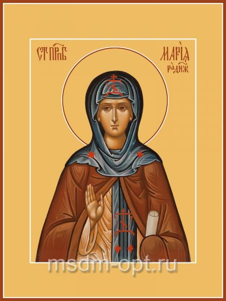 Мария Радонежская преподобная, икона (арт.04834)