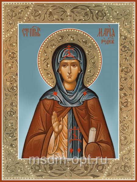 Мария Радонежская преподобная, икона (арт.04834-с 2)