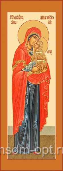 Анна, мать Пресвятой Богородицы, праведная, икона (арт.04835-с 2)