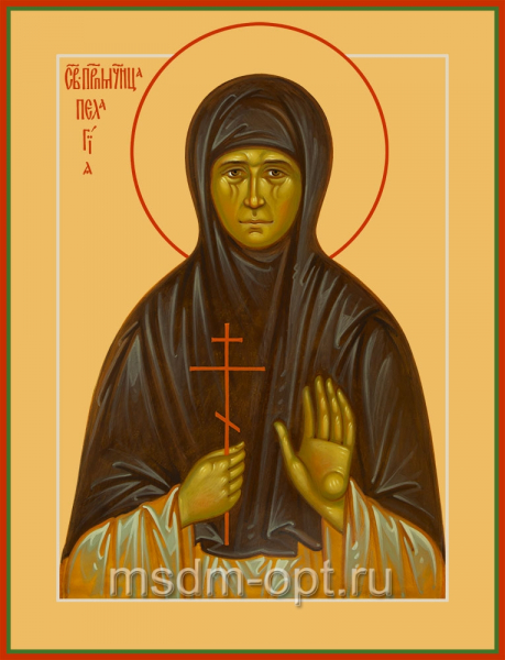 Преподобномученица Пелагия (Тестова), икона (арт.04836)