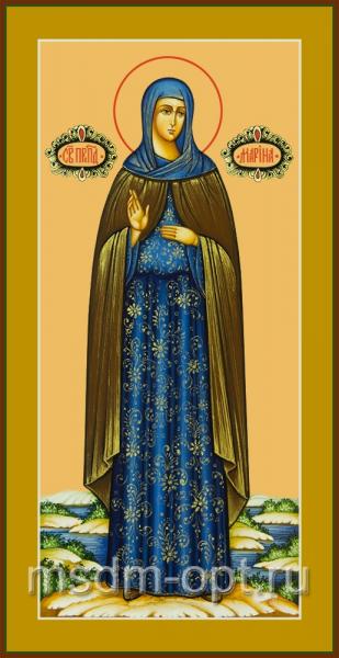 Преподобная Марина Берийская (Македонская), дева, икона (арт.04840 с-2)