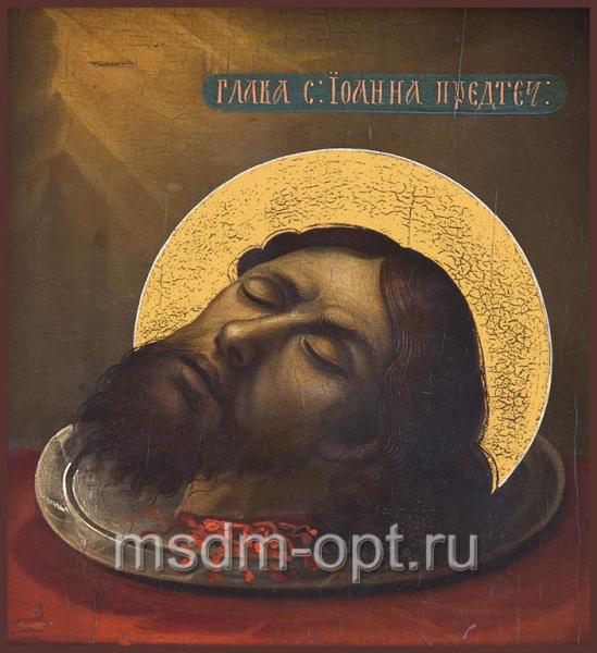 Усекновение главы Иоанна Предтечи, икона (арт.492)